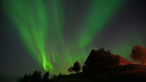 Auroras boreales en septiembre
