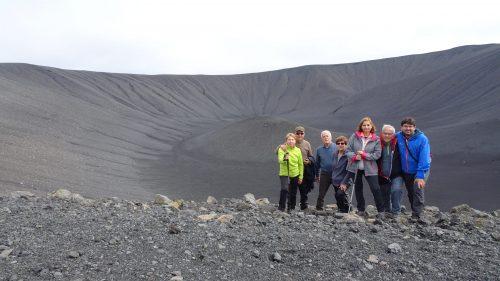 Cráter del Hverfall cerca del Lago Mývatn