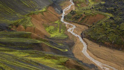 Cañón Graenagil (Landmannalaugar)