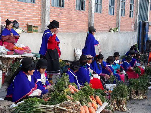 Mujeres misak de Silvia Cauca