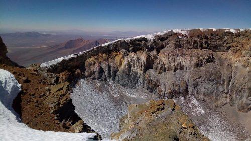 Cráter del Parinacota