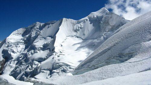 Los glaciares del Illimani