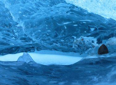 Interior de un iceberg