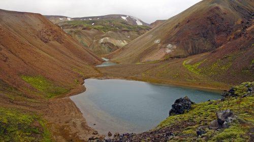 Lago junto Brennisteinsalda