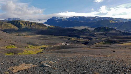 Llegando a Þórsmörk