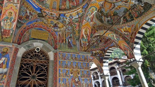 Pinturas del Monasterio de Rila