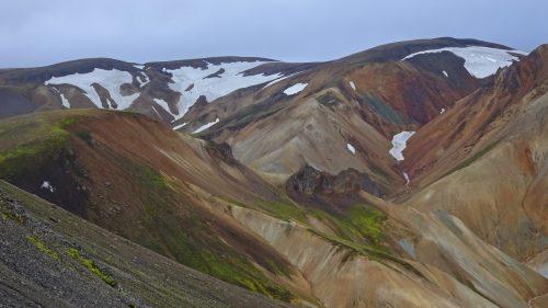 Montañas de colores