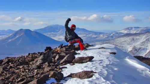 Cumbre volcán Vicuñas