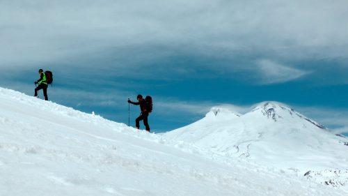 Aclimatando frente al Elbrus