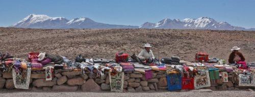 Mirador de los Andes, camino del Colca