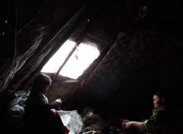 Interior del chum