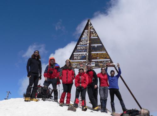 Cima del Toubkal (4.167 m)