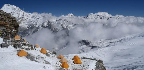 Campamento de altura (5.790 m)