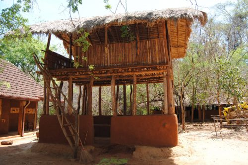 Casa tradicional de la tribu Yakkha
