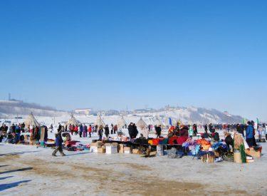 Festival del Día del Pastor en Aksarka