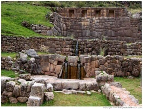 Fuentes incas de Tambomachay