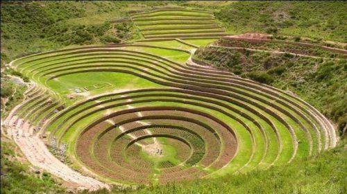 Terrazas circulares de Moray