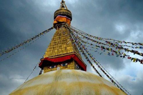 Boudhanath, Kathmandú