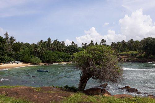 Costa sur de Sri Lanka