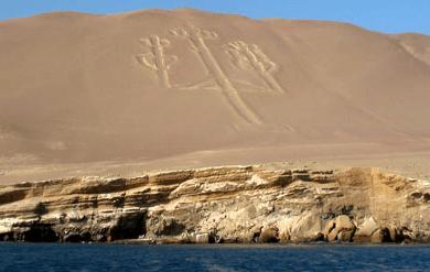 El Candelabro en Paracas
