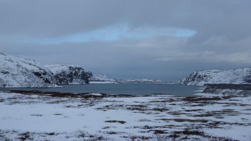 Vistas al mar de Barents