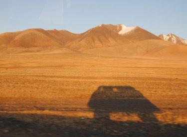 Atravesando la región de Bayan-Ölgii