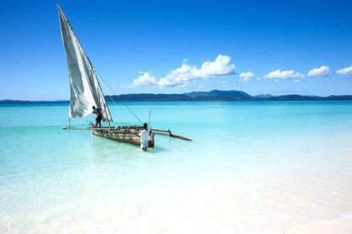 Playas del oeste de Madagascar