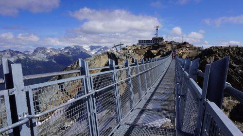 Puente colgante en Whistler