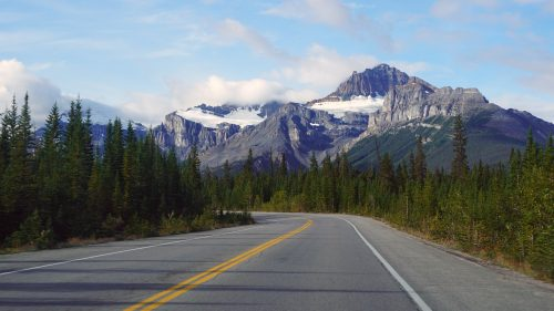 Icefields Parkway, sector Jasper
