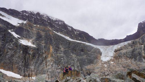 Angel Glacier en el monte Edith Cavell