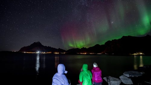 Auroras Lofoten 1
