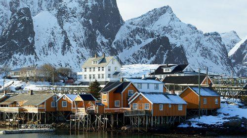 Cabañas pescadores Lofoten