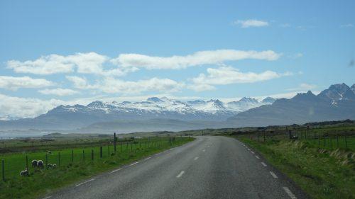 Carretera fiordos Este