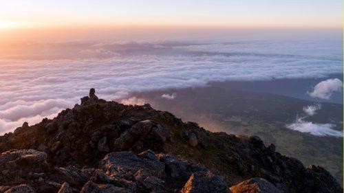 Cima volcán do Pico