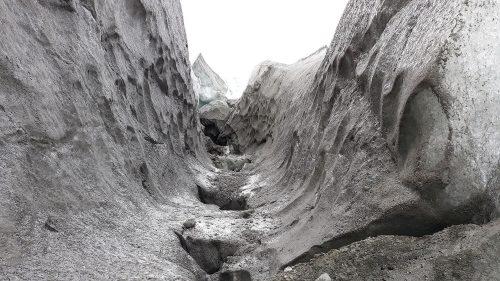 Entrada al casquete glacial groenlandés