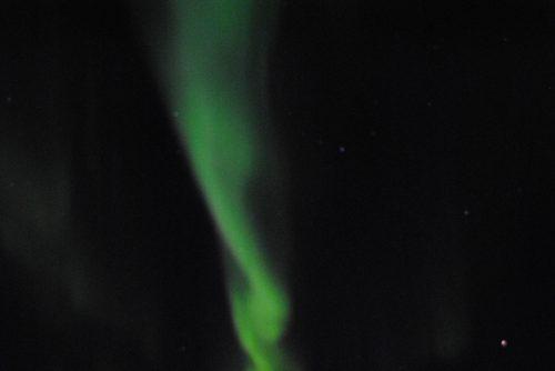 Aurora boreal en Tiniteqilaaq