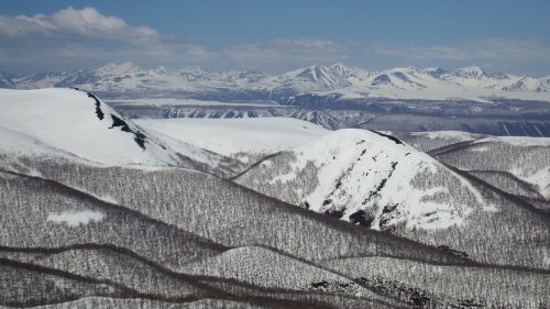 Montañas Kamchatka central