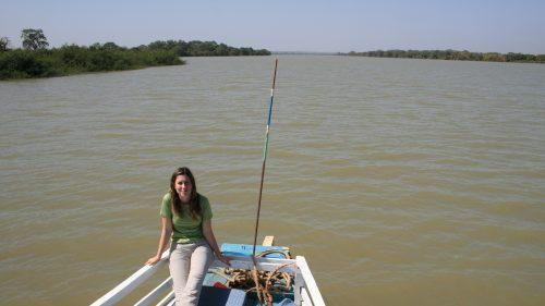 Navegando el río Gambia