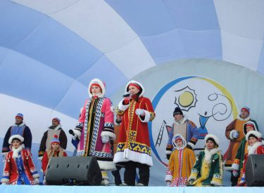 Festival del Día del Pastor en Salekhard