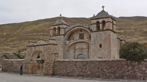 Arquitectura tradicional en el Colca