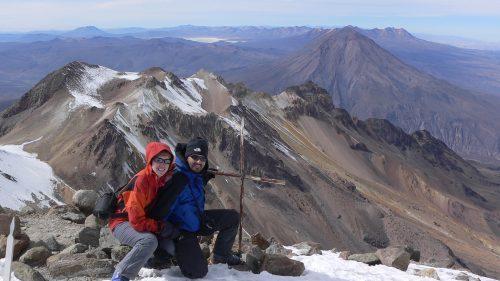 Cima del Chachani (6.075 m)