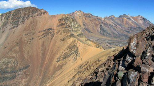 Cordal de cumbres del Pichu Pichu