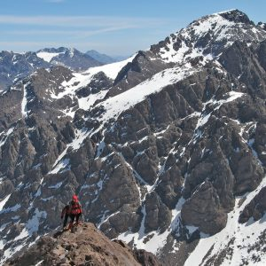 HIGH ATLAS, FOUR THOUSANDS IN TOUBKAL`S MASSIF