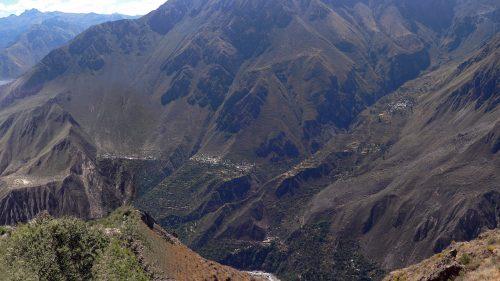 Vista general del Cañón del Colca