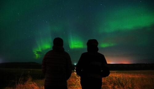 Observando las Luces del Norte