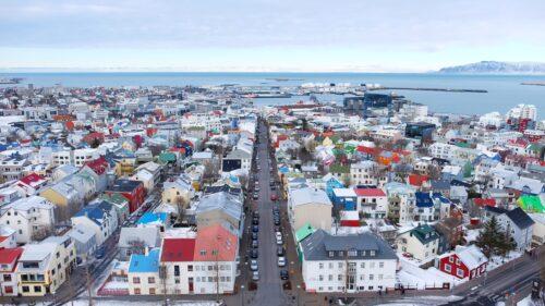 Vista de Reykjavík
