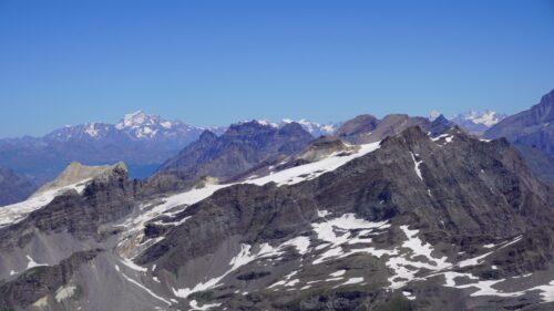 Grand Combin y montañas del Valais desde la Pointe Pers
