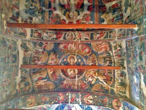 Frescos de la iglesia de Leuse